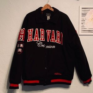 SOLD HARVARD UNIVERSITY CRIMSON jacket